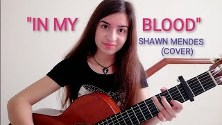 "Download Lagu Shawn Mendes - ""In My Blood"" / COVER by Talia Gratis STAFABAND"