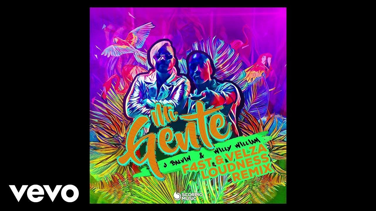J Balvin, Willy William - Mi Gente (F4st, Velza & Loudness Remix/Audio)