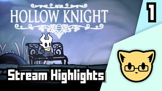 Someone Who's Never Played Hollow Knight Plays Hollow knight - JoCat Stream Highlight Part 1