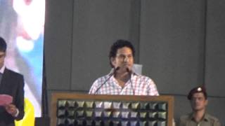 Sachin Tendulkar Speech at Inter IIT Sports Meet | IIT Bombay