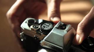 Analog Camera Shutter Button