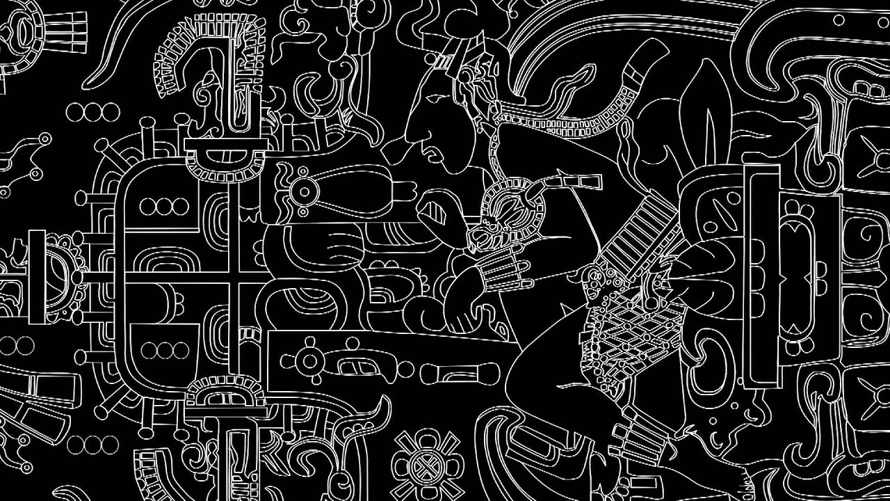 mayan pakal astronaut pics about space Gambling Skull Tattoo Tattoo Skin Diagram