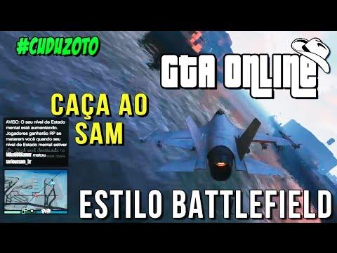 GTA Online - Caça ao Sam : Matei like a Battlefield mas não valeu?