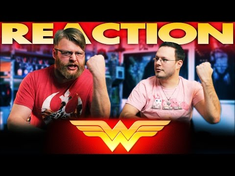 Wonder Woman Movie First Look REACTION!!