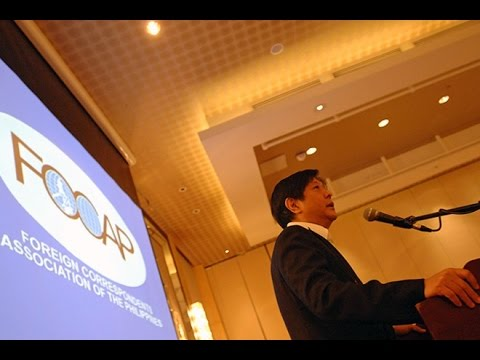 Bongbong Marcos - Foreign Correspondents Association of the Philippines (FOCAP) Forum