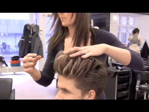 Edward Cullin Twilight hair - Big Sexy Hair wolume powder - Robert pattinson mens hair - Slikhaar TV