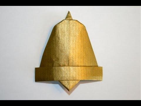 Origami cloche bell senbazuru youtube - Cloche de paques ...