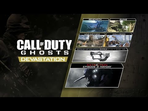 Cod Ghosts 2 DLC: Devastation/Extincion Mayday