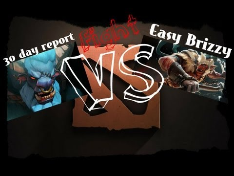 Дуэль на миду Dota 2 Spirit Breaker VS Troll Warlord