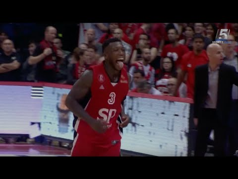 Nate Robinson's 46 point playoff game in Israel - Highlights