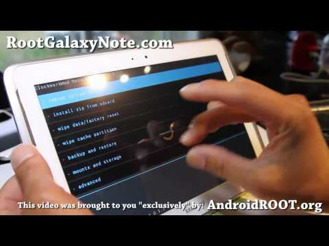 How to Root Galaxy Note 10.1! [CWM Method]