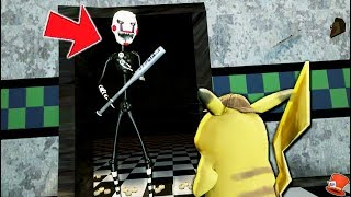 ANIMATRONICS & DETECTIVE PIKACHU FIND OUT WHAT TWISTED PUPPET IS HIDING! (GTA 5 Mods FNAF RedHatter)