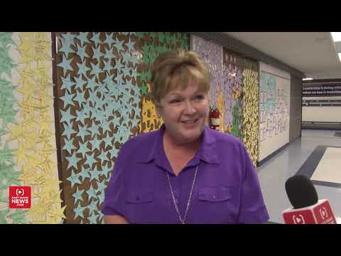 """""""Thank God for her!"""" Emotional reunion for substitute teacher who saved child choking on candy"""