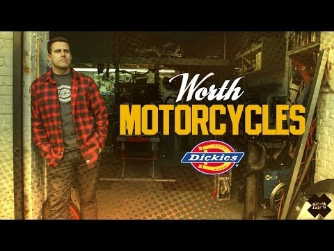 Worth  - Brooklyn Made Custom Motorcycles | BUILT TO WORK