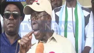 Oshiomhole denies being placed under house arrest
