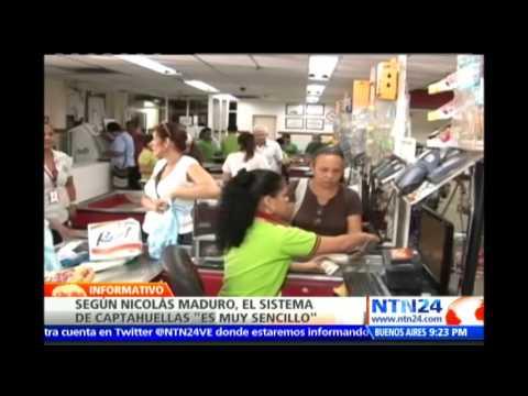 Maduro asegura que el sistema de captahuellas en supermercados es
