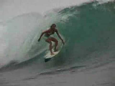 Holly Beck and Team Body Glove Surfing in Indonesia Video