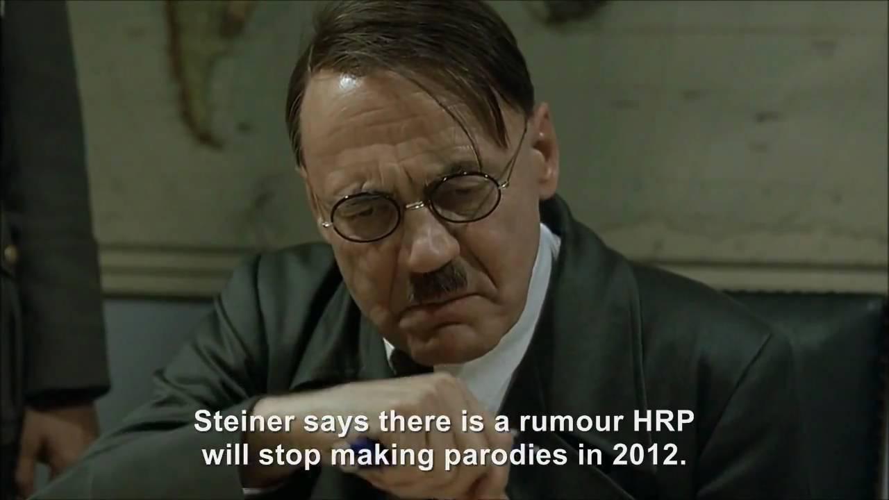 Hitler rants about Hitler Rants Parodies