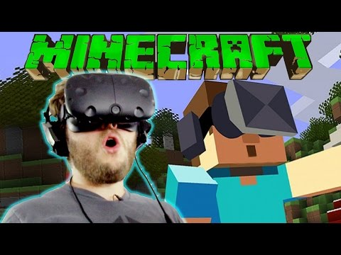 VR Minecraft with Friends