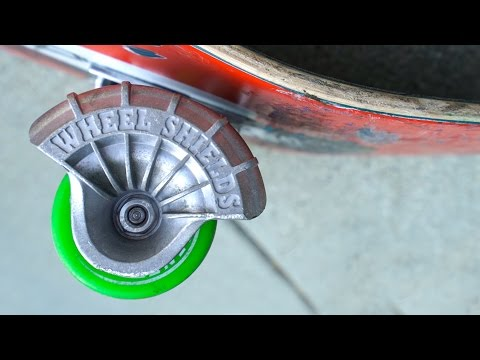 WHEEL SHIELDS?!  PROTECT BEARINGS FROM ANYTHING!!!