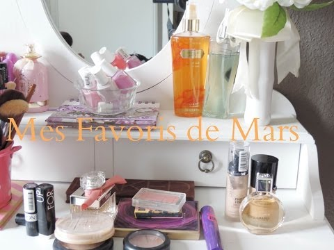 [VLOG] Mes Favoris de Mars/ March Favorites Products