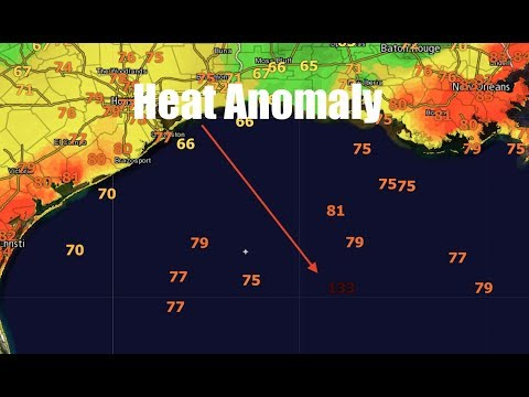 Heat Anomaly in Gulf of Mexico - 133!
