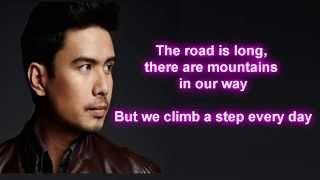 Christian Bautista - Up Where We Belong (Lyrics)