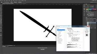 Designing fantasy weapons in Photoshop
