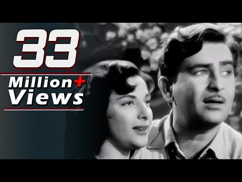 Aaja Sanam Madhur Chandani - Raj Kapoor Nargis Chori Chori Song...