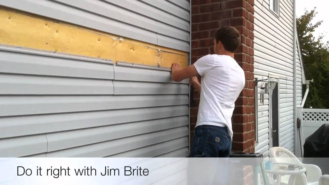 Quot Oh Snap Quot A Brite Idea For Vinyl Siding Youtube
