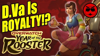 Overwatch Year of the Rooster D.Va's Korean Culture Craziness!  - Game Exchange