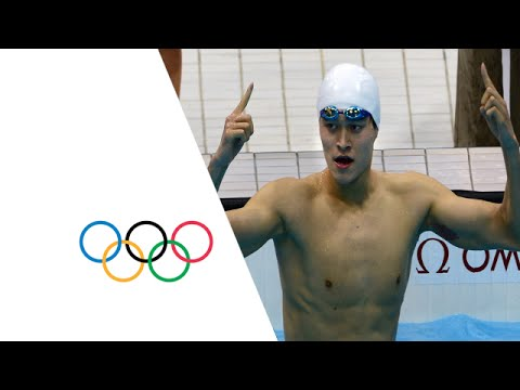 Sun Yang 400m Freestyle - New Olympic Record | London 2012 Olympics