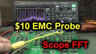 EEVblog #1188 - $10 DIY EMC Probe using Scope FFT