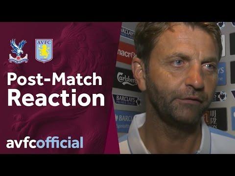 Post match reaction Crystal Palace 2-1 Villa