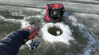 Fishing on SKETCHY Ice ❄️