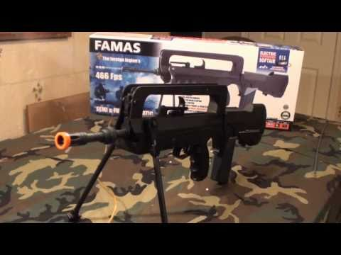 CyberGun FAMAS AEG Airsoft Review