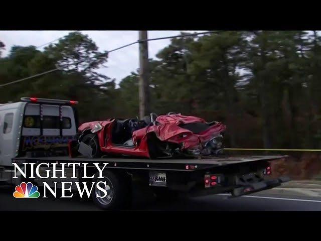Two Killed When Porsche Launches Into Second Floor Of New Jersey Building | NBC Nightly News thumbnail