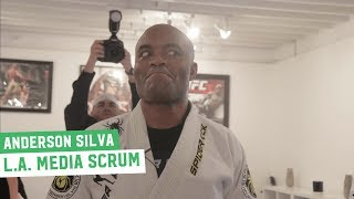 Anderson Silva talks Conor McGregor, Israel Adesanya & Sharks... Like, He Really Loves Sharks