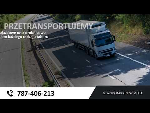 Usługi Transportowe Warszawa Status Market
