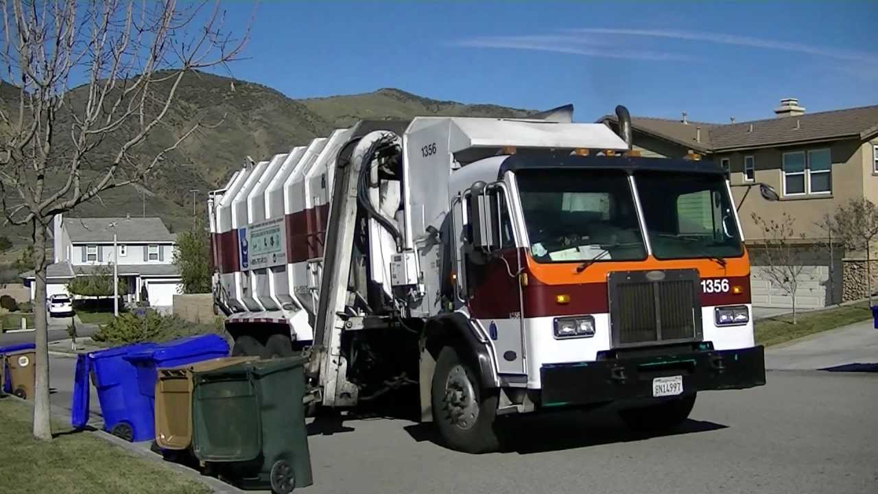 Burrtec Waste Garbage Truck Compilation Youtube