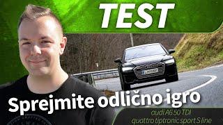 2019 audi A6 50 TDI quattro tiptronic sport S line - test