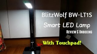 BlitzWolf BW-LT1S Smart LED Lamp Review & Unboxing [HD] (With Touchpad!)