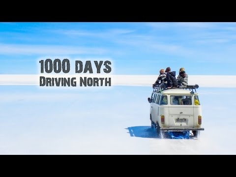 The Longest Road in The World (3 years in 1 video)