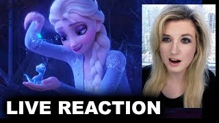 Frozen 2 Trailer 2 REACTION
