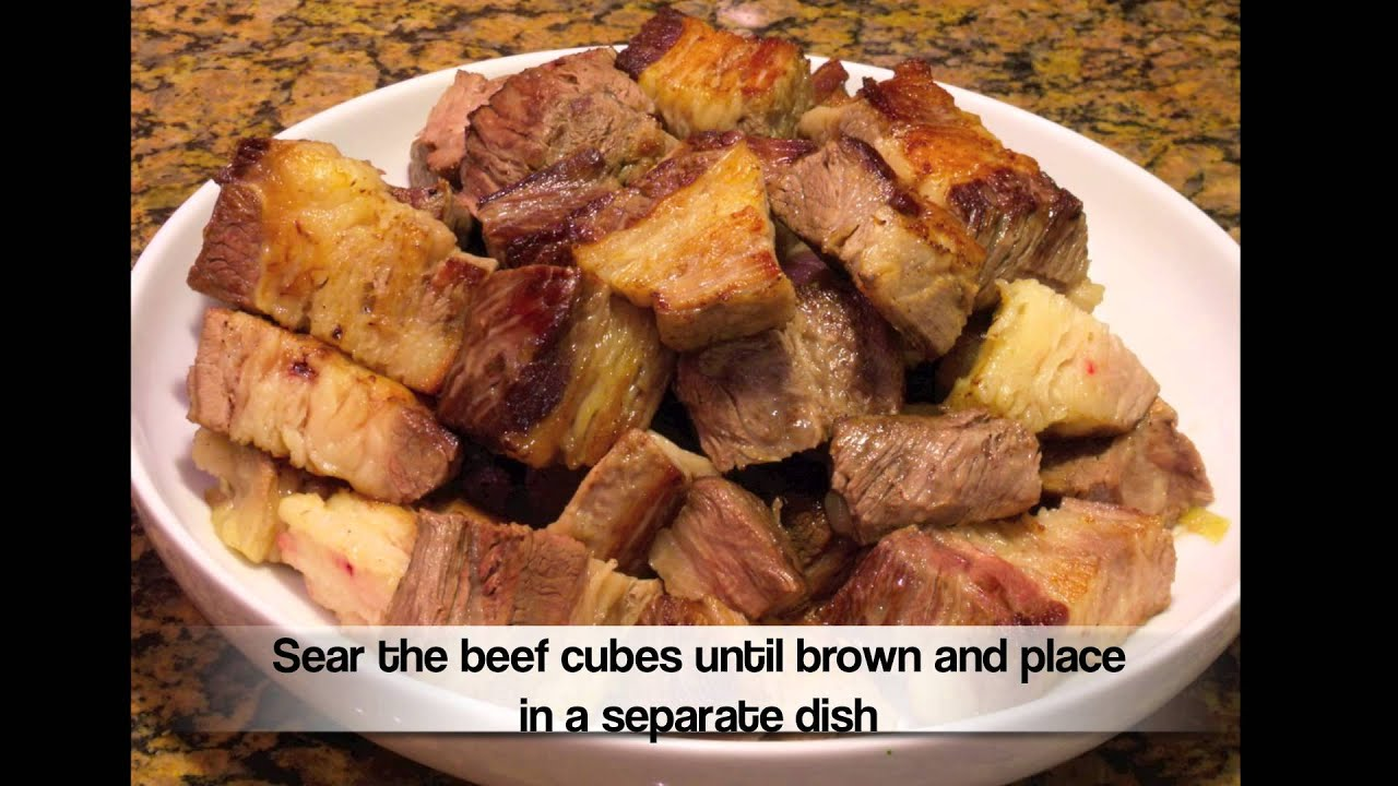 Chinese Stewed Beef Brisket - YouTube