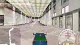 GBA Need for speed Carbon- East Tunnel