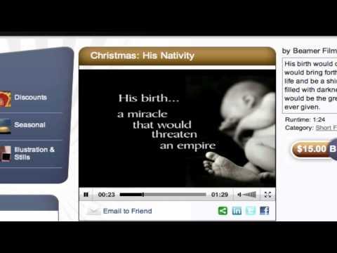 Videos for Church   Beamer Films   Christmas Videos for Church
