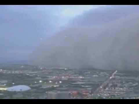 Ufo dust storm, USA July, 2011