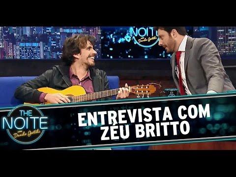 The Noite (01/08/14) - Entrevista com o cantor Zéu Britto