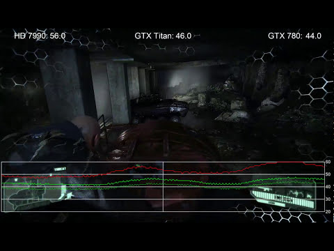 Crysis 3: Radeon HD 7990 vs. GTX Titan vs. GTX 780 Frame-Rate Tests